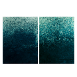 """""""30 minutes floating 01/02"""",diptych (23,5 x 17cm each, Hahnemühle paper)"""