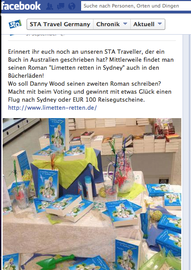Voting Aufruf bei facebook am 5. September 2013