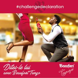 Campagne: Saint valentin, Marque: Beaufort Tango,  Photographe: Zacharie Ngnogue, Agence: voodoo, Client: Brasserie du cameroun