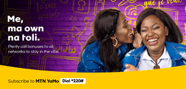 Campagne: MTN yamo, Directeur artistique: Bibi benzo, Photographe: Zacharie Ngnogue, Agence: MW DDB, Client: MTN CAMEROON