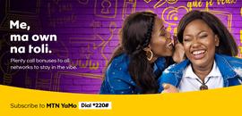 Campagne: MTN yamo, Directeur artistique: Bibi benzo, Photographe: Zacharie Ngnogue, Agence: MW DDB, Client: MTN CAMEROON