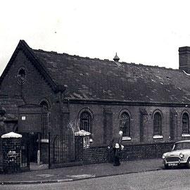 Wenman Street Gospel Hall stood on the corner of Knutsford Street.