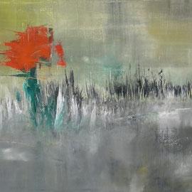 untitled, Öl auf Leinwand, 60 x 80 cm