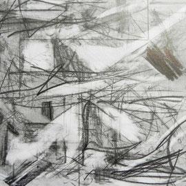 untitled, Bleistift auf Papier, 19 x 16 cm