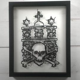 FORZA SANKT PAULI. 24 x30 cm
