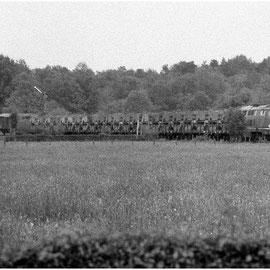 Weiterer Militärzug zwischen Walheim, Schmithof und Raeren