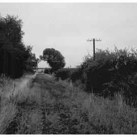 24. September 1985 - Die Strecke Aachen Rothe-Erde - Brand ist zurückgebaut worden
