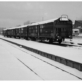 2. April 1984 - Winteridylle im Brander Bahnhof