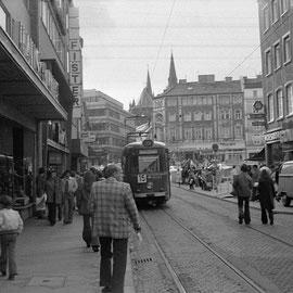 28. September 1974 - Der letzte Tag der Aachener Straßenbahn. Eine Fahrt mit der letzten Linie, der Linie 15 von Vaals nach Brand
