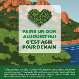 Affiche pour l'Office National des forêts, avril 2012