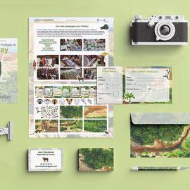 Identité visuelle et graphisme pour une association