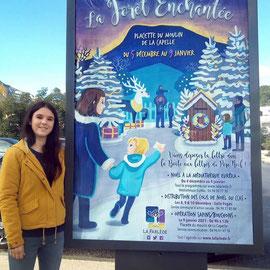 Affiche pour la mairie de la Farlède, décembre 2020