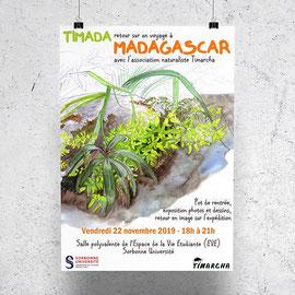 Affiche pour une exposition