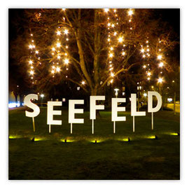 StadtSicht 143b: Seefeld Weihnachtsbeleuchtung