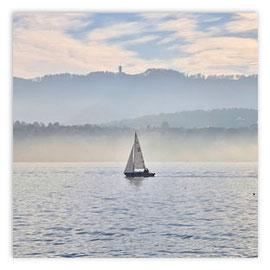 StadtSicht 145b: Segelboot am Zürihorn