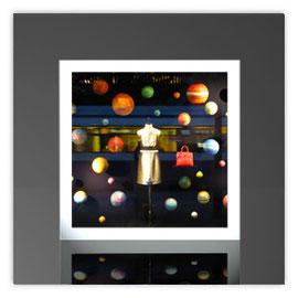 Quadratleuchte, Motiv mit Louis Vuitton 001