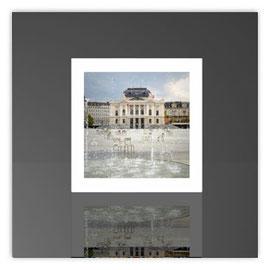 Würfelleuchte, Motiv mit Opernhaus Zürich 001