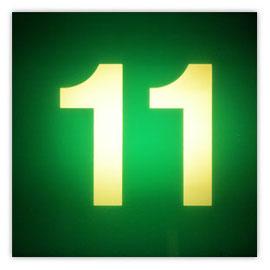 111j Tram #11 002, Tramnummer