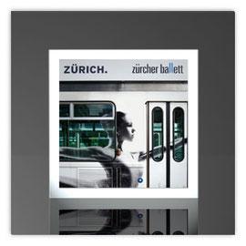 Quadratleuchte, Motiv mit Zürich Ballett 001