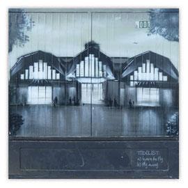 047d Stromkasten mit Abbild der Deichtorhallen