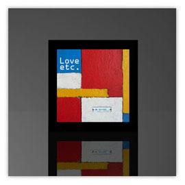 Würfelleuchte, Motiv mit Mondrian 001