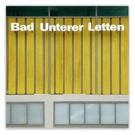 StadtSicht 132d: Bad Unterer Letten Eingang