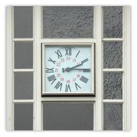 StadtSicht 133b: Bahnhof-Wiedikon Uhr über Portal
