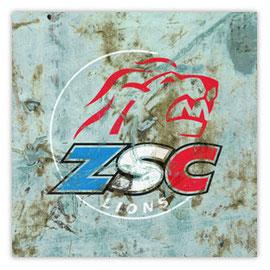 StadtSicht 138d: ZSC Lions Graffiti an Hauswand
