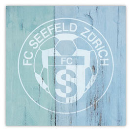 StadtSicht 138a: FC Seefeld Zürich Graffiti an Holzwand