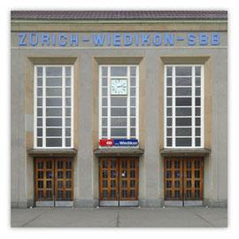 StadtSicht 133a: Bahnhof-Wiedikon Eingang
