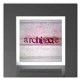 Quadratleuchte, Motiv mit Architecte 001