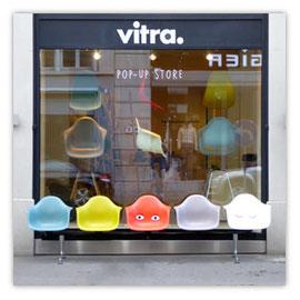 117b Vitra Pop Up Store Zürich. Schaufenster
