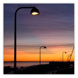 Laterne im Abendrot 002