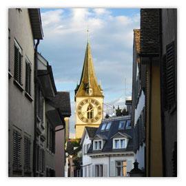 StadtSicht 139a: St.Peter, Zürich