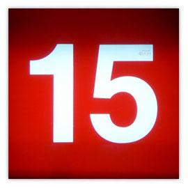111n Tram #15 002, Tramnummer