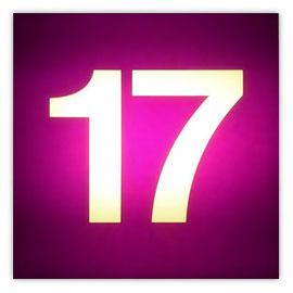 111o Tram #17 002, Tramnummer