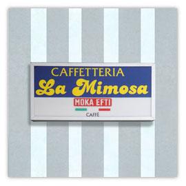 """StadtSicht 136d: Bar und Retaurant """"Caffetteria La Mimosa"""""""