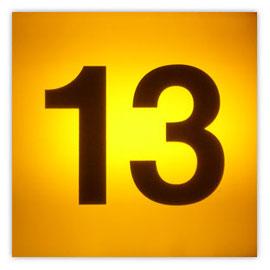 111l Tram #13 002, Tramnummer