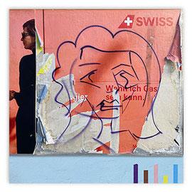 StadtSicht 148c: Graffiti Picasso am Bellevue
