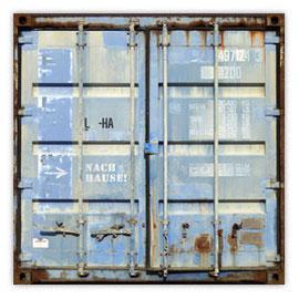 048c Container hellblau