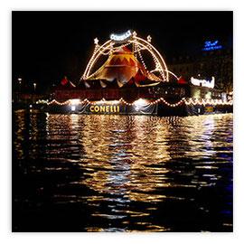 StadtSicht 150c: Zirkus Conelli bei Nacht vor der Limit