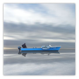 059d blaues Boot mit Fischer 001