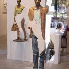 Galerie d'art quartier du Marais