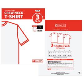 T-Shirt Package 衣料品製造販売会社 自社商品パッケージ