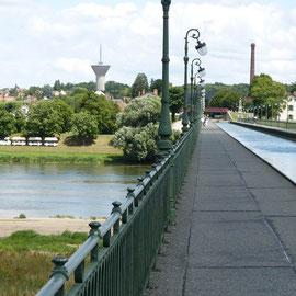 Kanal und Fluß auf einen Blick