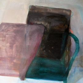 Après tout (145 x 195cm) huile, goudron sur toile. 2016