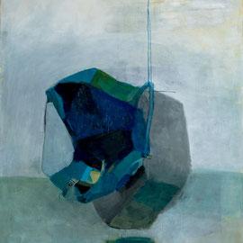 Pierre. 195 cm x 145 cm, huile sur toile. 2019