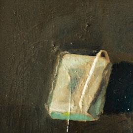 Matelas (10 x 10cm) huile, goudron sur toile. 2016