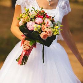 букет невесты боковская