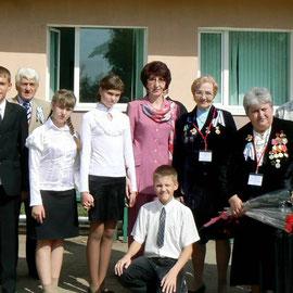 Активисты музея вместе с делегатами конференции МСБМУ 2009 года